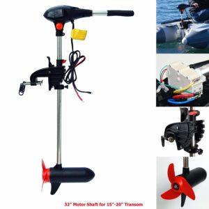 Seamax 65 Pound Thrust Canoe Kayak Trolling Motor.