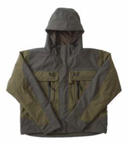 Caddis Men's Green Natural Fly Fishing Jacket.