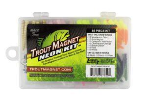 Neon Kit Trout Magnet.