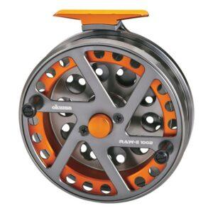 Okuma Raw ll Centerpin float reel for Steelhead.