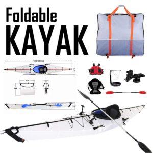 12ft Foldable Lightweight Kayak.