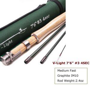 3wt Unifishing fly rod.