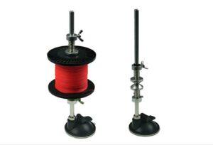 Fishing line spooler system.