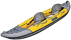Island Voyager yellow 2 person kayak.