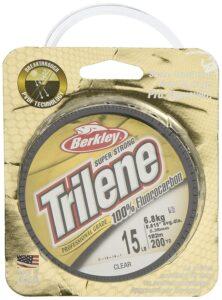 Trilene Fluorocarbon Leader Line 6lbs 100yrd.
