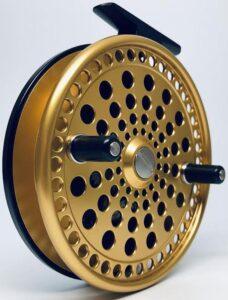 Gold Kingpin 475 Imperial Centerpin Float Reel.