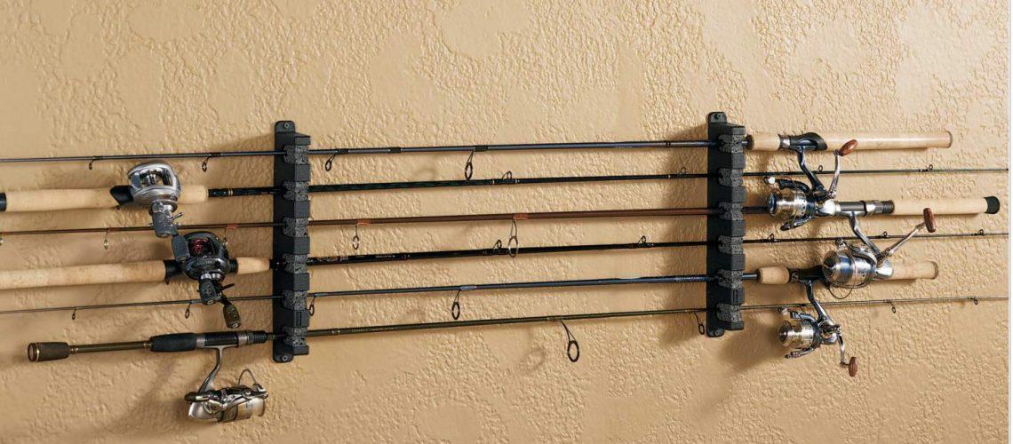 Berkley Fishing Rod Rack Full.